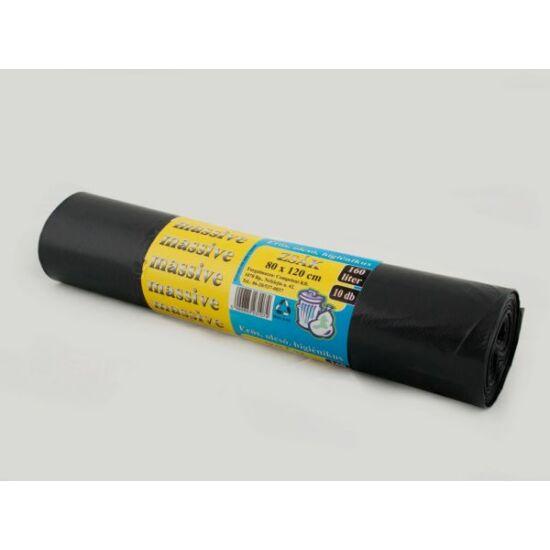 Szemeteszsák 95x120 150 l fekete