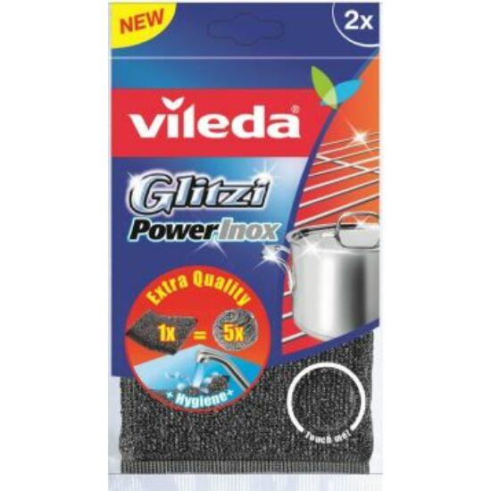 Vileda Glitzi Power Inox súrolópárna 2 db