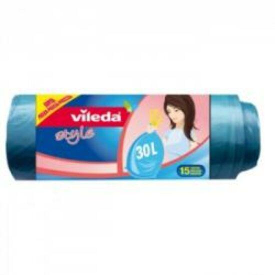 VIL szemeteszsák önzárós 30 literes 15 db/csomag
